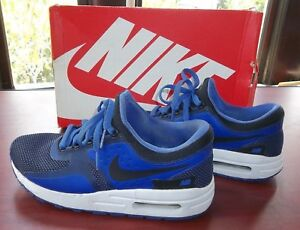 pretty nice bc6a3 5fae9 Image is loading NIKE-AIR-MAX-ZERO-ESSENTIAL-GS-Running-Shoes-