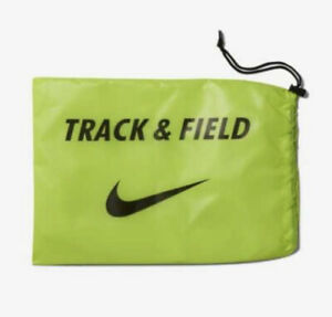 Field Spikes Shoes Bag Only Neon Black