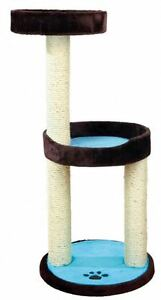 Trixie 43870 Arbre à chat Lugo, 103 Cm, Marron / Turquoise
