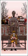 "GRAND BUDAPEST ""The Author"" silkscreen print by Tim Doyle Nakatomi Artist"