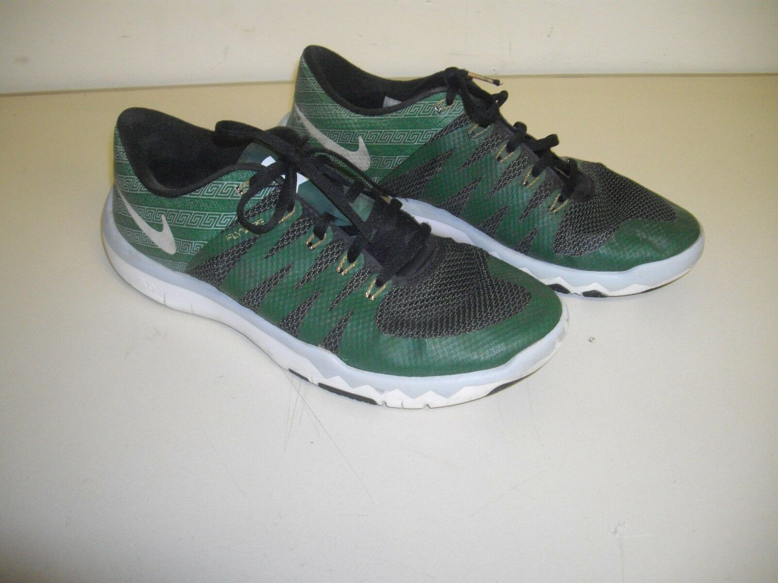 Mens, NIKE, Free Trainer, 5.0, Size Flywire, Michigan State Shoes, Size 5.0, 9.5M 72ee31