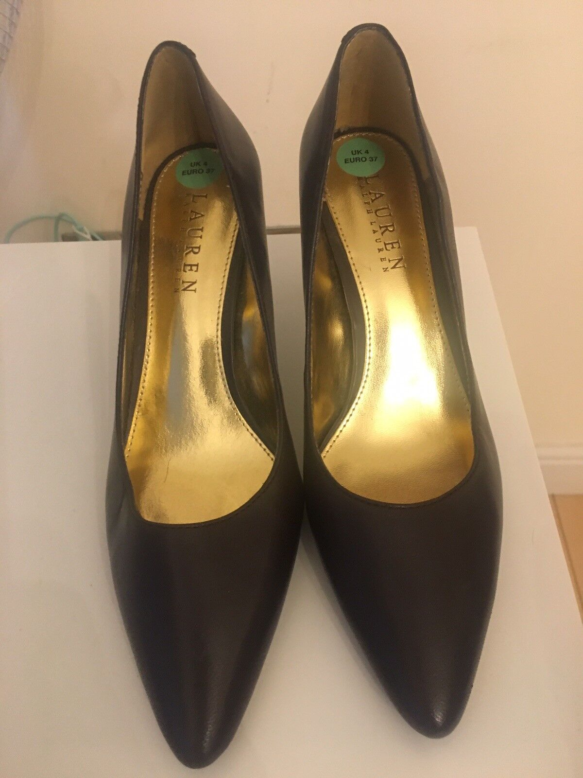 Ralph Lauren Femme Chaussures Cuir Taille UK 4 (US Taille 6.5B)