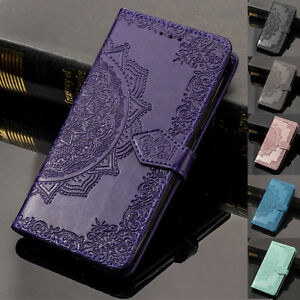 For Samsung Galaxy Note 9/S9+/S8 Card Wallet Retro Leather Flip Stand Case Cover