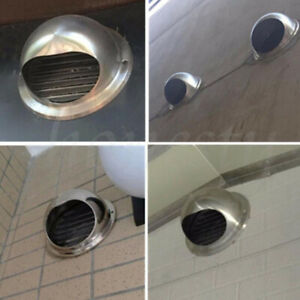 Stainless-Steel-Wall-Air-Vent-Ducting-Ventilation-Exhaust-Grille-Cover-Outlet