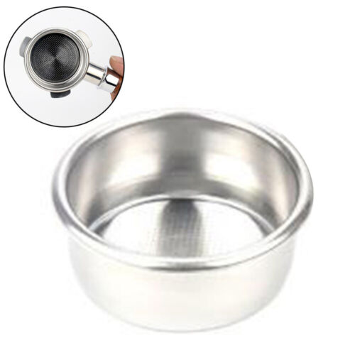 1 Stainless Steel Double Cup Filter Basket For Breville 54mm Portafilter 1 X