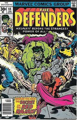 VERY FINE The Defenders Comic Book #46 Marvel Comics 1977