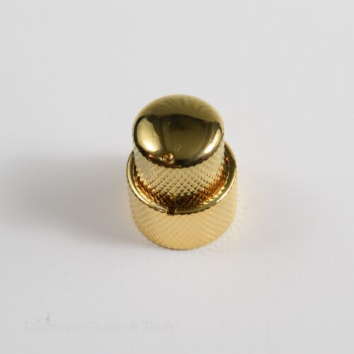 Gold Stacked Dual Control Knob Concentric Set with set screw