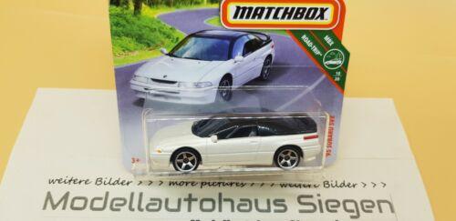 Matchbox MBX Neuheit Subaru SVX Weiß White MBX Road Trip