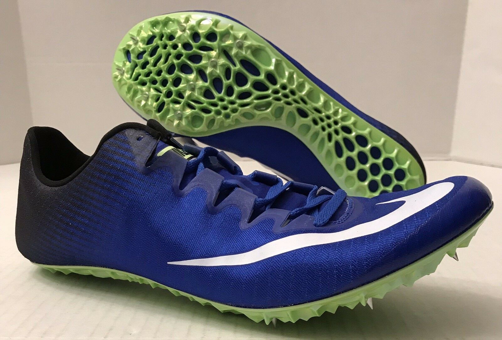 NIKE ZOOM SUPERFLY ELITE SPRINT RACING TRACK SPIKES 835996 (MEN'S 12.5) NO BOX