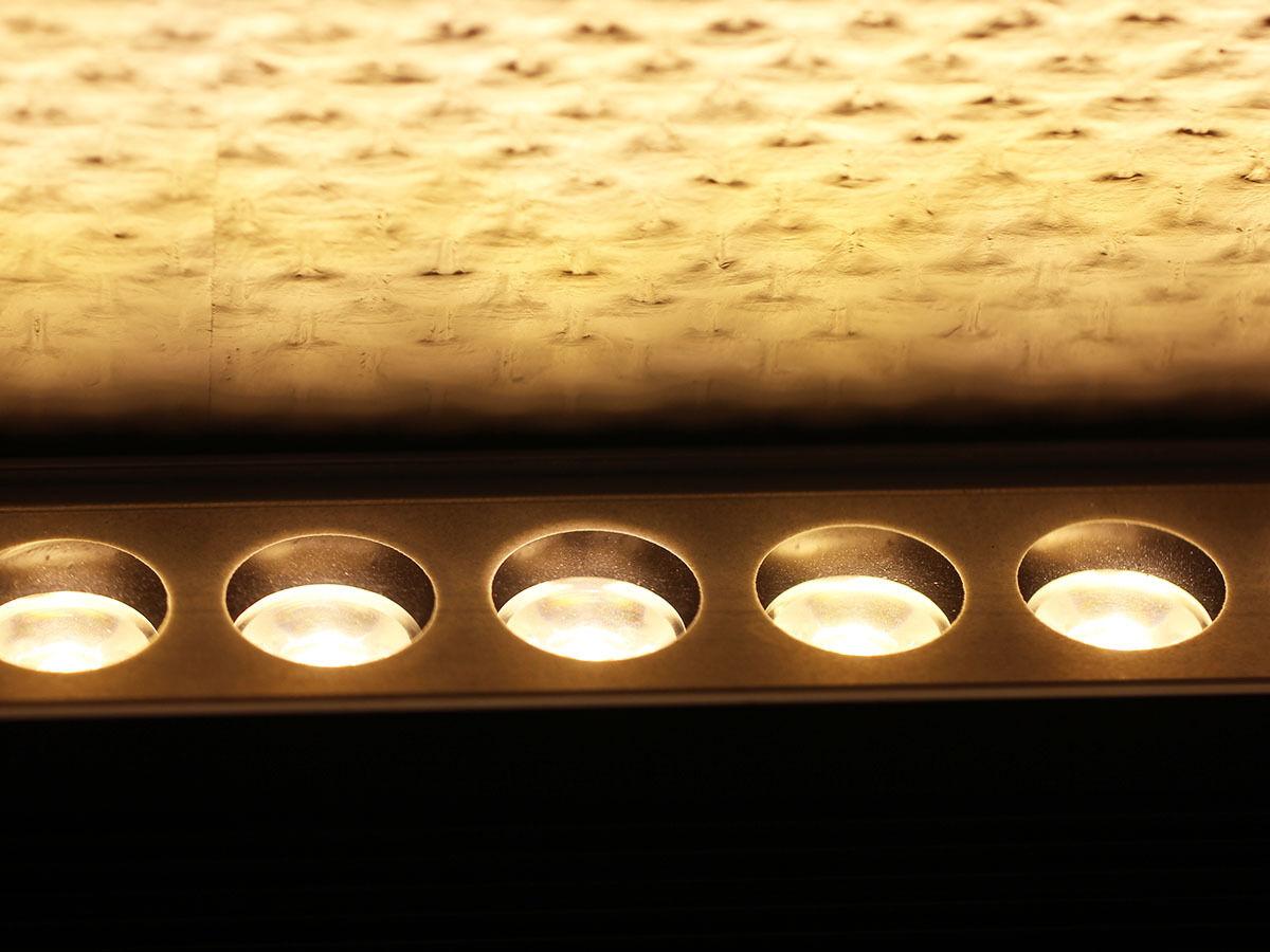 100cm 36x1w LED emisor wallwasher exterior lámpara lámpara impermeable-en blancoo cálido