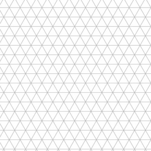 10 x 140gsm ISOMETRIC PAPER A2 size Metric 5mm triangles premium paper