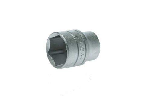 "Regular 6 Pt Metric 27mm Socket TENG TOOLS M1205276-C1//2/"" Drive"
