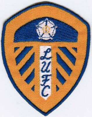 Leeds United Retro 3 Inch Embroidery Iron Or Sew On Patch Badge Collectable Patches Patch