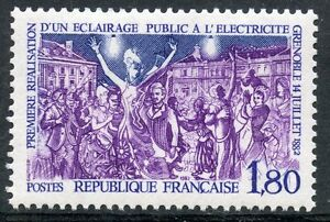 STAMP-TIMBRE-FRANCE-NEUF-N-2224-ELECTRICITE-GRENOBLE