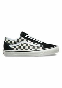 Vans-SCARPE-OLD-SKOOL-36-ANAHEIM-FACTORY-sneakers-unisex-scacchi-bianco-nero