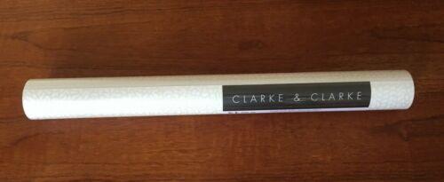 Clarke Et Clarke Isla papier peint W0093//04 Ivoire//Pearl X1 RRP £ 39.99