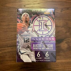 (1) New 2019-2020 Panini Illusions NBA Basketball Blaster Box - JA, Herro, Zion?