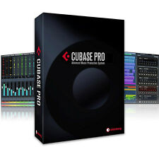 Steinberg Cubase Pro 9 Mac PC MIDI Audio Sequencer Retail Box