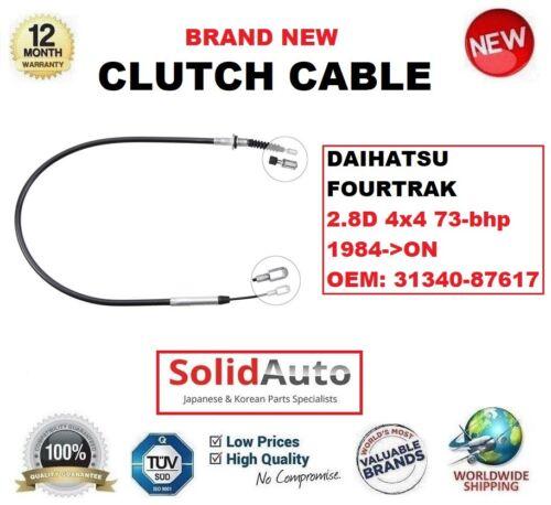 Top Quality Clutch Cable  for Daihatsu Fourtrak