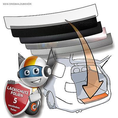Lackschutzfolie Ladekantenschutz Folie passend für Opel Corsa E ab 2015