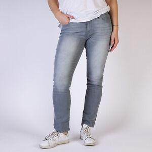 Levi-039-s-Mid-Rise-Skinny-Grau-Damen-Jeans-DE-38-US-W31