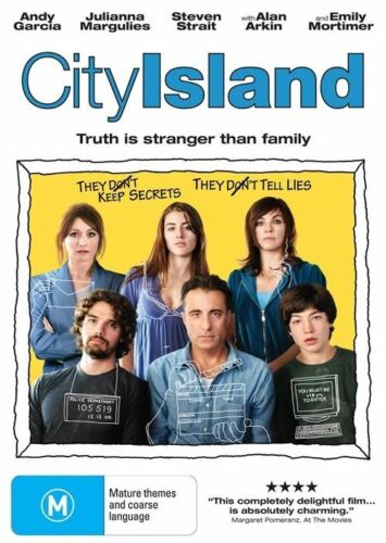 1 of 1 - City Island-DVD VERY GOOD CONDITION FREE POSTAGE ALL OVER AUSTRALIA REGION 4