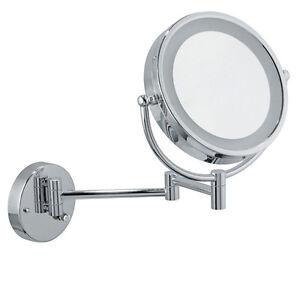 Infiniti Pro Wall Mount Vanity Mirror 8 5 Inch Chrome Led