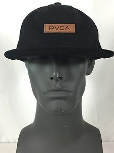competitive price 9cd7b bef53 Image is loading NWOT-RVCA-Twill-III-Black-Men-039-s-
