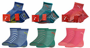 4-PAAR-PUMA-ABS-SOCKEN-STOPPERSOCKEN-BABY-KINDER-ANTIRUTSCH-FLIESENFLITZER