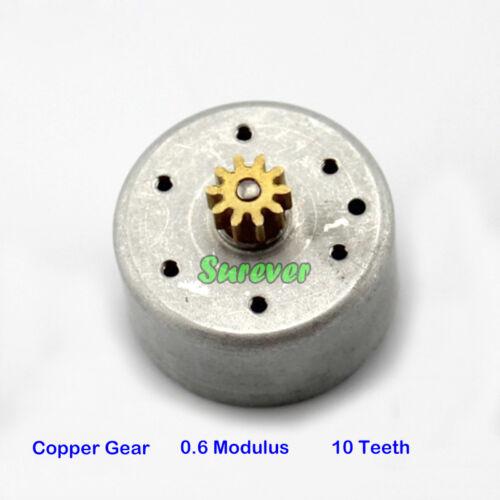DC 1.5V-6V 3V 300 Solar Motor Without Wire 6.5mm Shaft//20mm Shaft// Copper Gear
