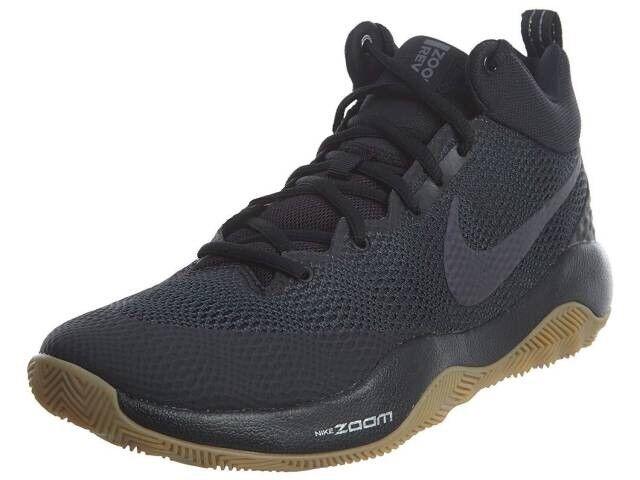 Nike zoom riv scarpe da basket nero / bianco antracite uomo numero 9 852422 nwb