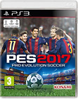PS3-Pro Evolution Soccer (PES) 2017 /PS3 GAME NUOVO