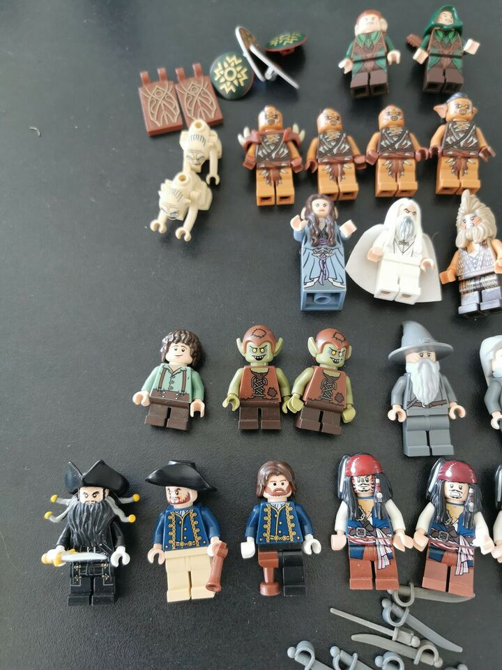 Lego Ringenes Herre, Figurer