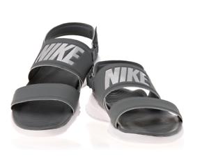 1d9b939ffdb Nike Tanjun Women s Sandal 882694 Gray Flip Flop Slides Free Track ...