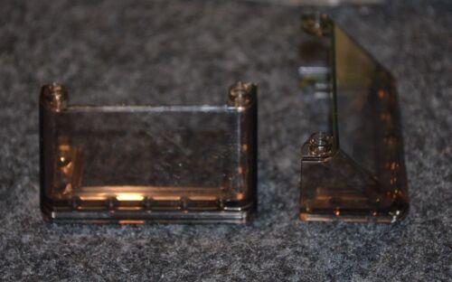 (2) 3x6x2 Smoke Car / Truck Windshield Bricks New Lego
