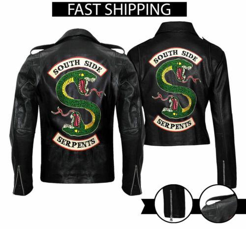 Women/'s Riverdale Southside Serpents Gang Jughead Jones Cole Sprouse Faux Jacket