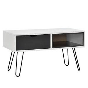 sideboard wei konsole kommode beistelltisch fernseh tv tisch schrank ebay. Black Bedroom Furniture Sets. Home Design Ideas