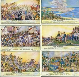 LIEBIG : S_1554/55 : Etapes de l'histoire 1-12
