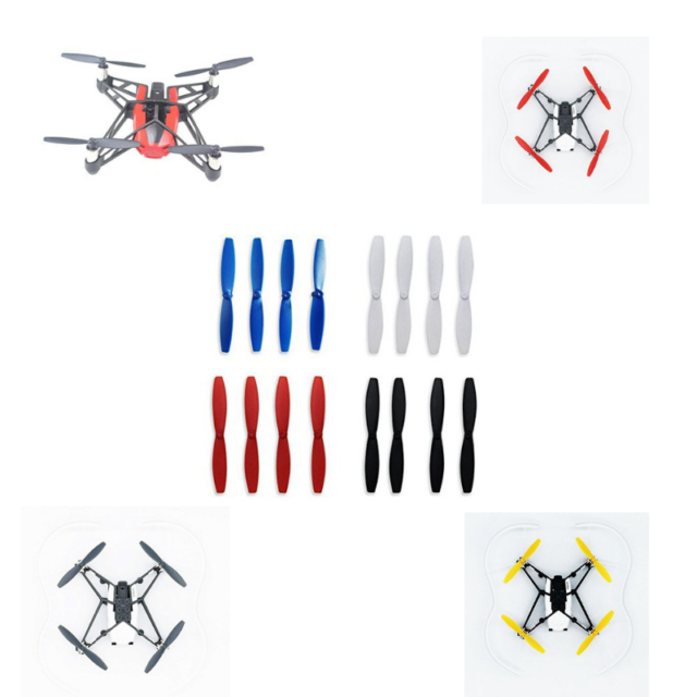 Black BTG Accessories Propellers Props Compatible with Hubsan Zino H117S Spare Parts
