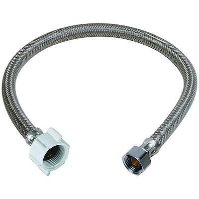 "Plumbing Lot 50 pcs 1//2/""FIP X 3//8/""Comp X 16/"" SS Faucet Supply Connector//Lines"