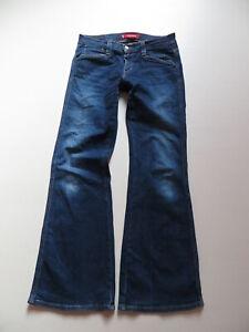 Levi-039-s-LOW-SLOUCH-Schlag-Jeans-Hose-W-32-L-34-Hippie-Flare-Indigo-Denim-KULT