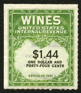 #RE147 $1.44 Wines, Used [2] **ANY 4=FREE SHIPPING**
