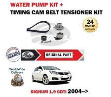 Para Opel Signum 1.9 CDTI Z19DT Z19DTL 2004 > Cam Kit De Correa Distribución + Bomba De Agua