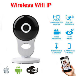 ip kamera 720p hd berwachung wireless wifi nachtsicht webcam wlan netzwerk a ebay. Black Bedroom Furniture Sets. Home Design Ideas