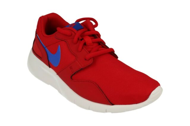 58dd6d8bdfa7 Nike Kaishi GS Running Shoes Trainers Red Blue 705489-604 Roshe Run ...