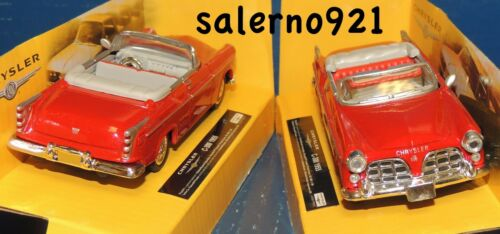 Scale  FOR LIONEL//MTH//K-LINE! ONE 1955 CHRYSLER C-300  RED CONVERTIBLE 1:43 O