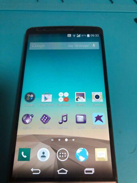 LG G3 D855 - 16GB - Metallic Black (Unlocked) Smartphone