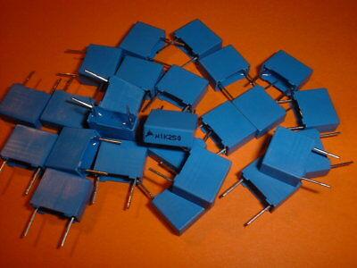 25x 100nF 250V Film-Kondensator EPCOS B32520 RM 7,5mm