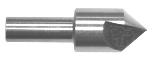 "1/""  60 Degree HSS Single Flute Countersink"