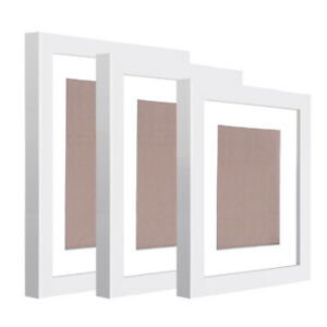 11 pcs Photo Frames Set Wall White